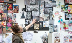 At the Graham & Brown design studio, Blackburn.