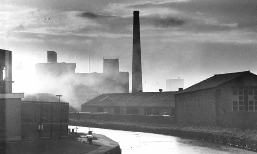 The Blackburn mills, before industry moved abroad.