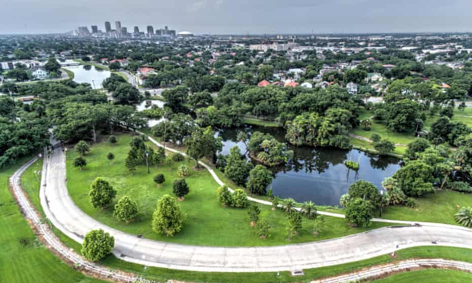 At 1,300 acres, City Park in New Orleans is one of the world's largest urban parks.