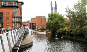 Birmingham's former industrial district