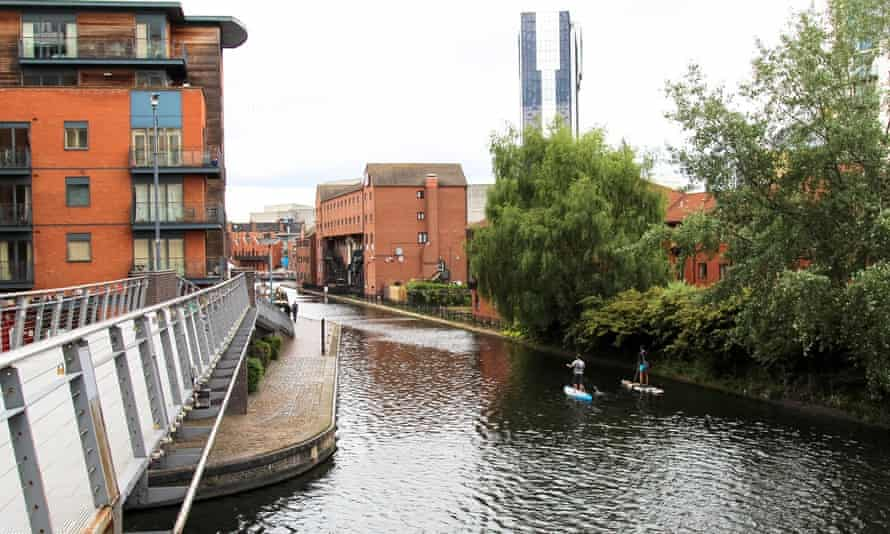 Birmingham's former industrial district