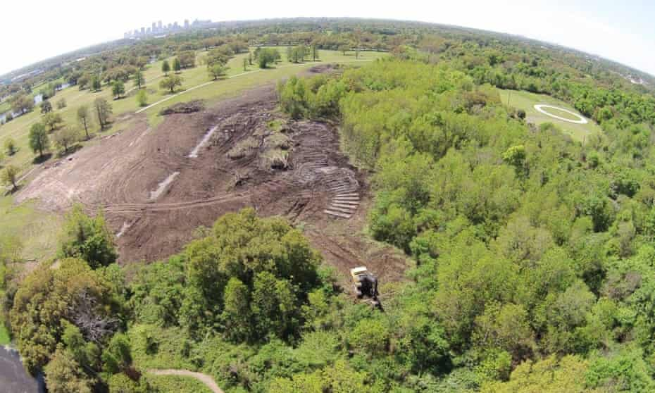 In July, construction of the new City Park golf course was found to have damaged an acre of wetlands.