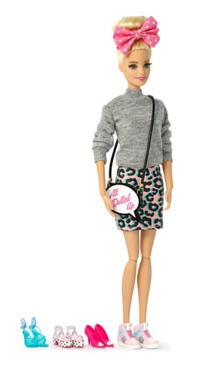 Webster's limited-edition Barbie features the designer's signature kitsch style.
