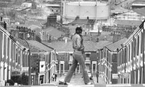 Blackburn in the 1980s.