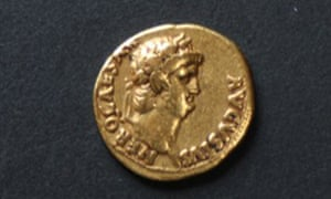 New toy … Holland's gold Roman coin