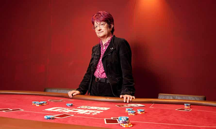 Chaplain Jenny Spouge at the Grosvenor casino in Luton