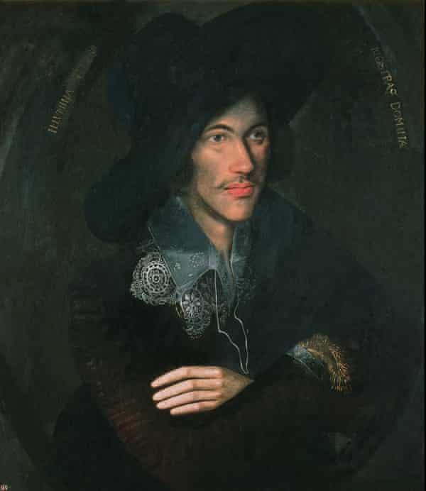 Portrait of John Donne ca. 1595.