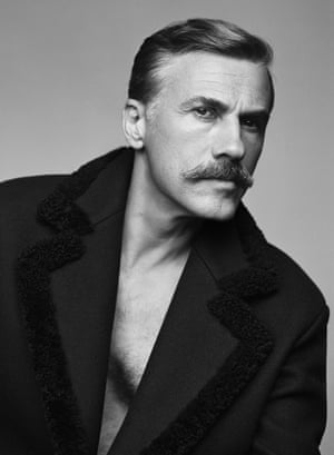 Pin-up … Christoph Waltz shot by Alasdair McLellan for issue 20 of Fantastic Man.