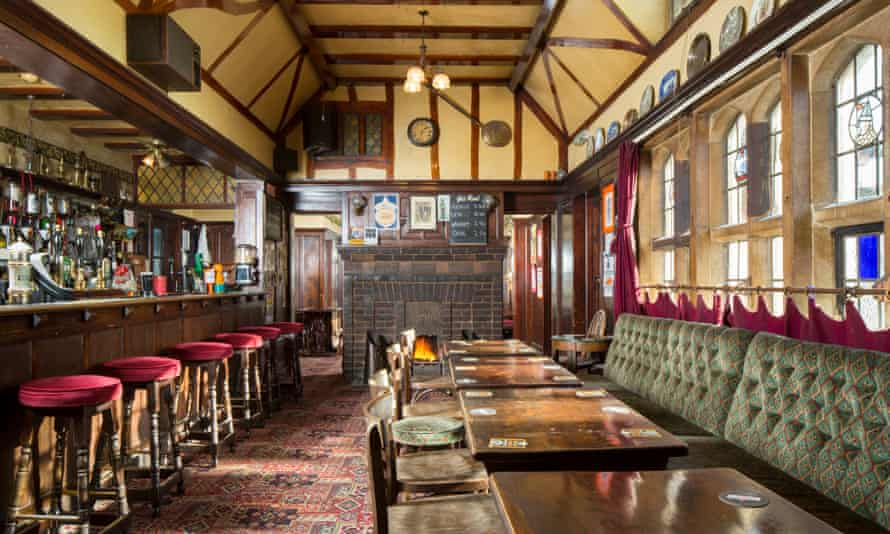 Precious pubs … Historic England has listed 21 interwar pubs, including The Gatehouse, Norwich, which has the feeling of a baronial hall.