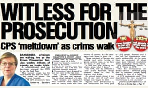 The Sun on Sunday's article attacking the CPS