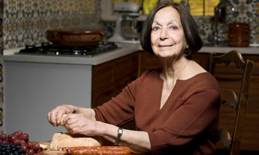 Claudia Roden at home in north London
