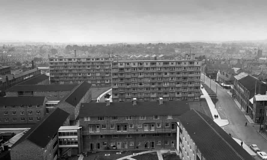 Thatcher used the word 'house' in her broadcast when millions of tenants actually lived in flats, giving the policy an aspirational flavour. Photograph: David Bagnall/Rex Shutterstock