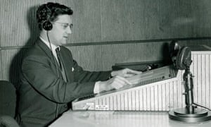 Radio broadcast from London Weather Centre, High Holborn, London
