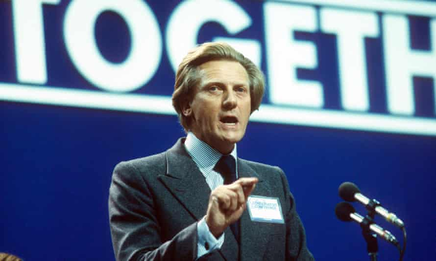 Michael Heseltine was frustrated by opposition to the Housing Act 1980. Photograph: Richard Francis/Rex Shutterstock