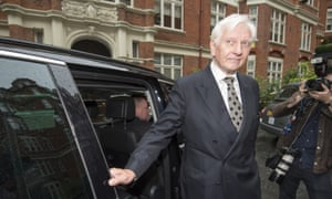 Ex-Tory MP Harvey Proctor at a press conference in central London on Tuesday.