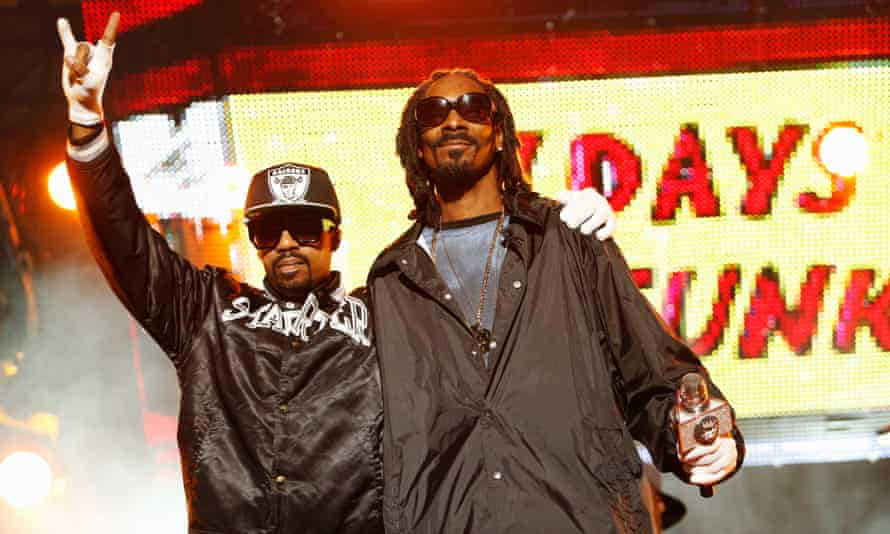 Ain't nuthin' but a D thang: Dam-Funk with Snoop Dogg.