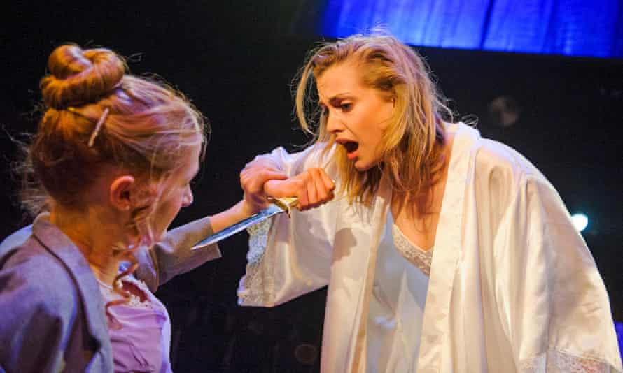 Kathryn Wilder and Stefanie Martini in Andromache by Jean Racine.