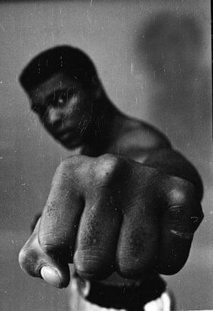 Muhammad Ali in 1966 - Thomas Hoepker's recently rediscovered alternative shot.