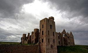Slains Castle near Cruden Bay, Aberdeenshire, Scotland is said to be the inspiration for Bram Stoker's Dracula.