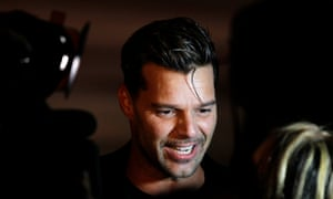 Ricky Martin … Take that, Trump.