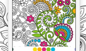 Recolor is a colouring app for adults.