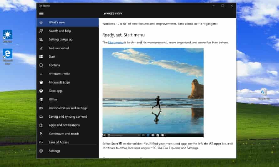 Windows10 Start menu