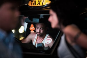 The work is particularly topical at the moment due to the dramatic changes occurring in the taxi industry, where the black cabs are fighting to survive