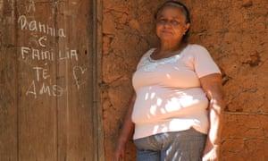 Emilia Alves da Silva Rodrigues, one of 1000s of 'babassu breakers' in north-east Brazil.