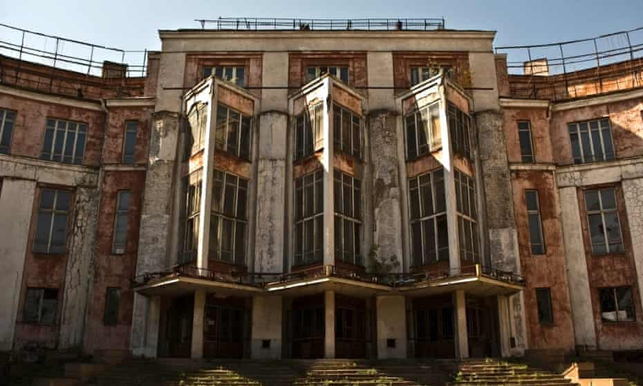 Lenin's Palace in Dnipropetrovsk, Ukraine