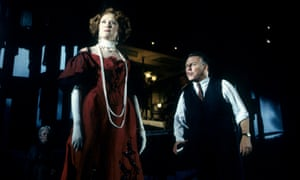 Judy Parfitt and Kenneth Cranham in Stephen Daldry's 1993 production of An Inspector Calls