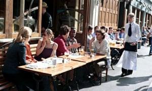 Cafe society London