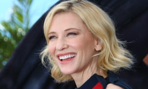 Cate Blanchett in Cannes.