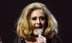 Adele, a member of the PRS