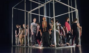 Frame[d] by the National Youth Dance Company