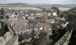In Conwy, local buyers can't afford even the lower prices.
