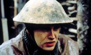 Jonny Lee Miller as Billy Prior in the film of Regeneration. Photograph: Moviestore/REX Shutterstock