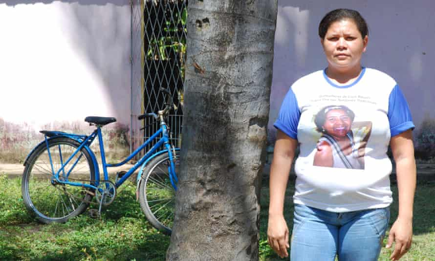 Francisca da Silva Nascimento, the general coordinator of the Inter-State Movement for Babassu Coconut Breakers.