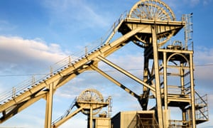 Mine craft … Woodhorn Museum, celebrating the area's historic coal mining tradition.