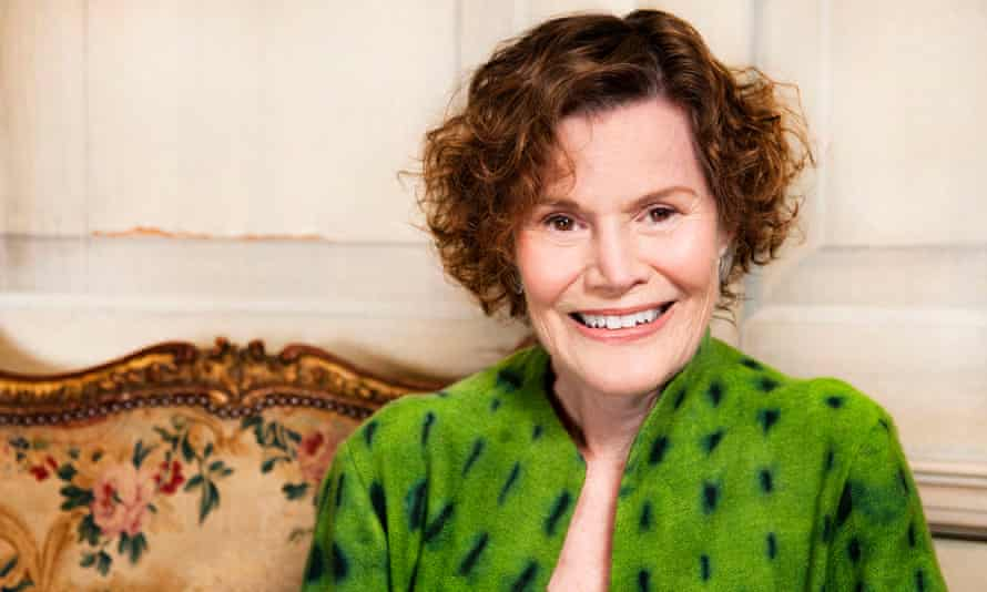 Another frequently banned author, Judy Blume.