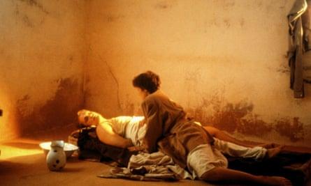 John Malkovich and Debra Winger in Bernardo Bertolucci's 1990 film of The Sheltering Sky.