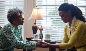 Plan of attack ... Karen Abercrombie and Priscilla Shirer in War Room