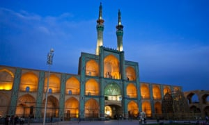Amir Chakhmaq mosque in Yazd.