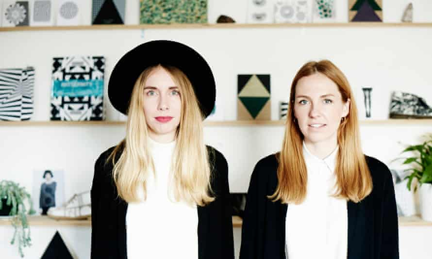 Anna Murray, left, and Grace Winteringham of Patternity.