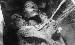 Egyptian mummies showed clear signs of fatty buildup in their arteries.