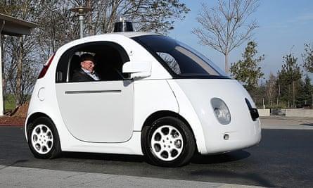 Transportation Sec'y Foxx Discusses Future Transportation Trends With Google CEO