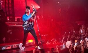 The Weeknd performing in Las Vegas last June.