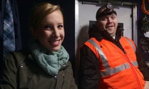 Alison Parker, left, and Adam Ward. Parker, who were killed on 26 August.
