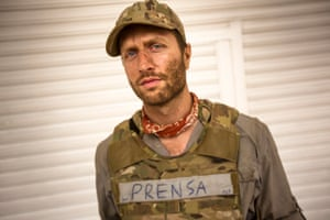 Matthew Heineman during the filming of Cartel Land in Mexico.