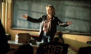 Michelle Pfeiffer in Dangerous Minds.