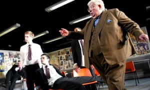 Richard Griffiths as Hector in the stage version of The History Boys